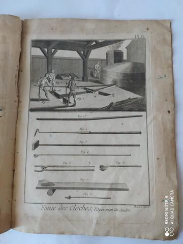 7 GRABADOS,  FABRICACION CAMPANAS,  1751 - foto 4