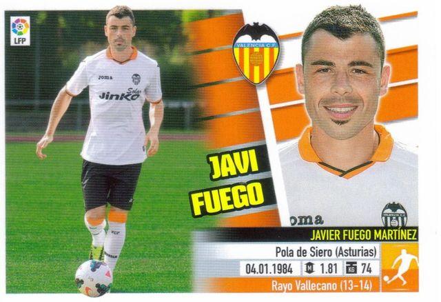 Este 13-14:  Javi Fuego  (Valencia)