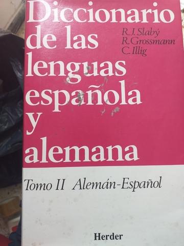 DICCIONARIO ALEMÁN-ESPAÑOL - foto 1