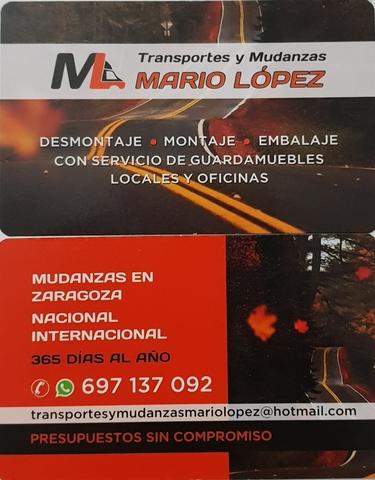 MUDANZAS MARIO LOPEZ - foto 1
