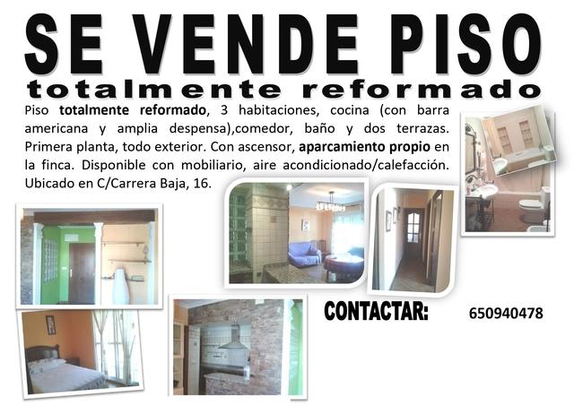 VENDO PISO TOTALMENTE REFORMADO - foto 1