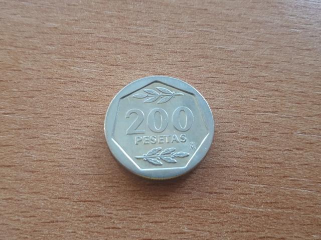 200 Pesetas 1986 Sc-