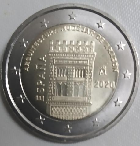 Moneda Conmemorativa 2  Euros Españ 2020