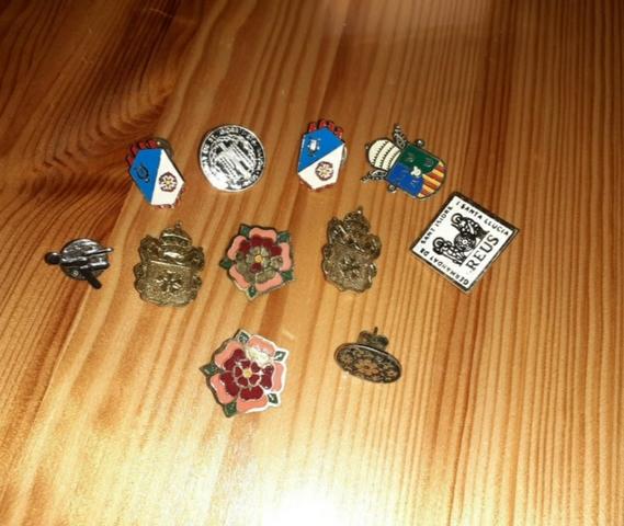 Colección De 11 Pins