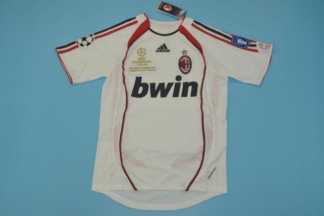 Camiseta Milan Final Champions 2007 Retr
