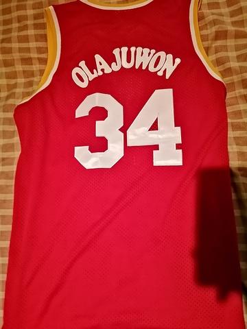 VENDO CAMISETA NBA OLAJUWON HOUSTON - foto 2