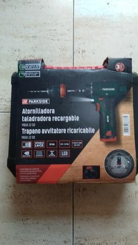 Taladro,  Atornillador Recargable Batería