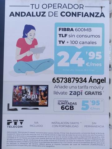 RED DE FIBRA ÓPTICA DE PTV TELECOM - foto 1