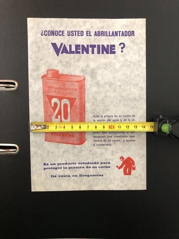 Cartel Valentine