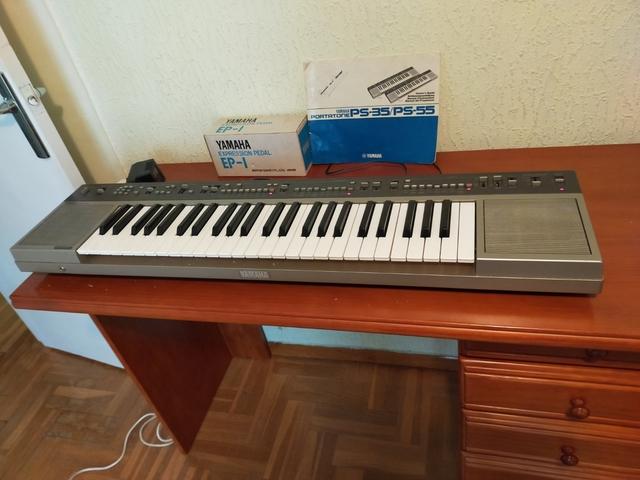 VENDO PIANO ELECTRÓNICO.  YAMAHA PS55 - foto 1
