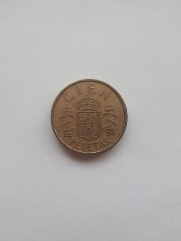 Moneda 100 Pesetas 1986