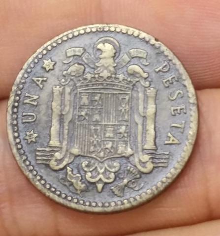 Moneda 1 Peseta 1947*51 Franco