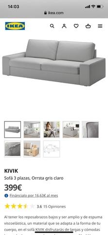 MIL ANUNCIOS.COM Sofa gris ikea Segunda mano y anuncios
