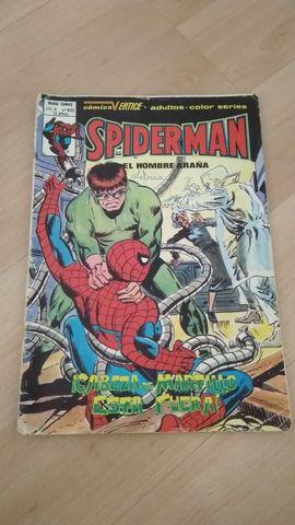 Comic Vértice Spiderman