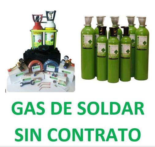 Gas De Soldar Argon,  Argco2 Sin Contrato