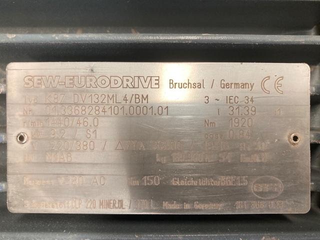 MOTORREDUCTORES 9, 2KW SEW-EURODRIVE - foto 3