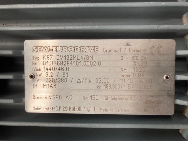MOTORREDUCTORES 9, 2KW SEW-EURODRIVE - foto 4