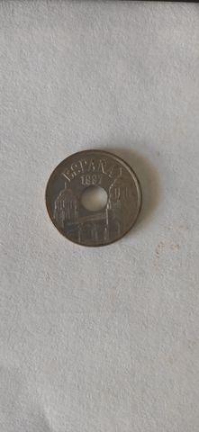 Monedas De 25 Ptas