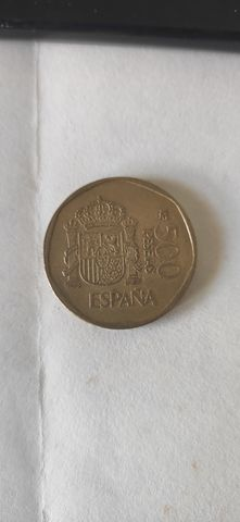500 Pesetas Año 1989