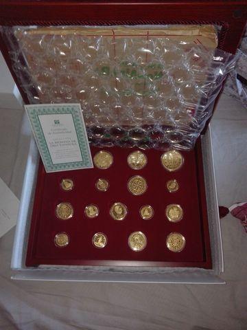 17 Monedas De Oro Española