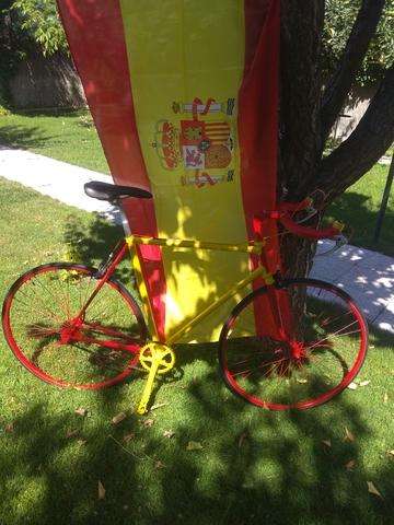 Bicicleta  Fixie España