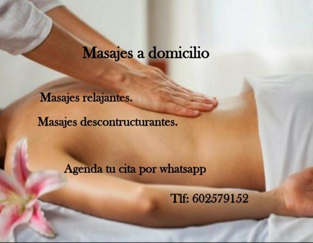 MASAJES A DOMICILIO - foto 1