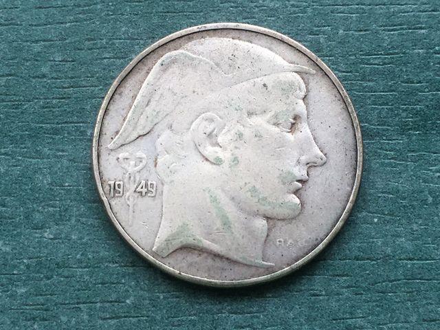Belgica 1949 Plata
