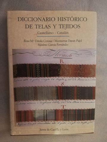 DICCIONARIO HISTÓRICO DE TELAS Y TEJIDOS - foto 1