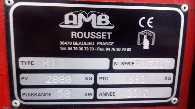 AMB ROUSSET R13 - foto 4