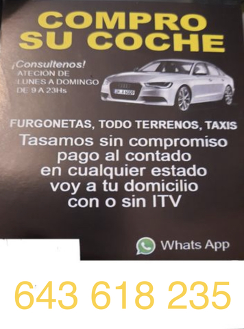 COMPRAMOS TU COCHE - foto 2
