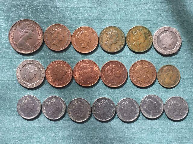 31 Monedas Diferentes Paises