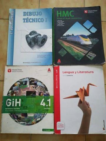 LIBROS DE 1 BACHILLERATO Y 4 ESO - foto 1