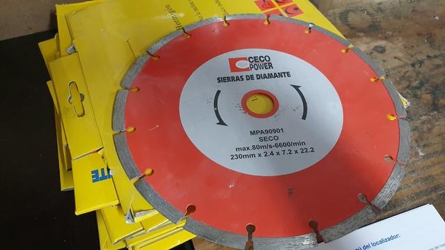 Disco De Corte Para Hormigon Nuevos.