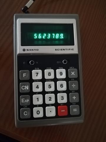 Calculadora Científica Sanyo