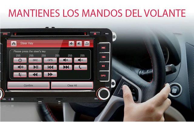 RADIO PANTALLA GPS PARA VW GOLF 5 PASSAT - foto 2