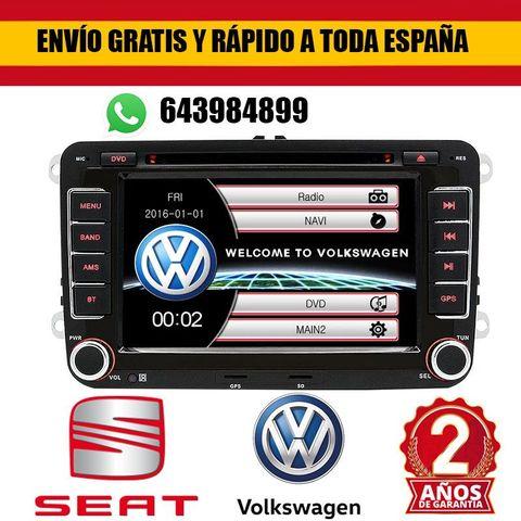 RADIO PANTALLA GPS PARA VW GOLF 5 PASSAT - foto 1
