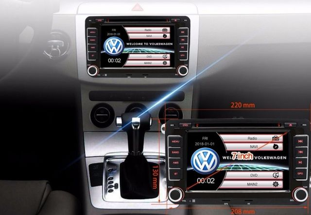 RADIO PANTALLA GPS PARA VW GOLF 5 PASSAT - foto 6