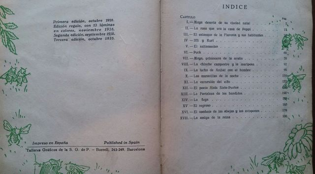 MAYA LA ABEJA – WALDEMAR BONSELS (1935) - foto 3