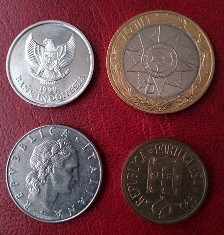 Lote De  Monedas Y Billetes Del Mundo