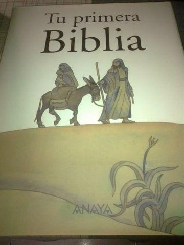 TU PRIMERA BIBLIA,  ENCUADERNACIÓN LUJO - foto 1
