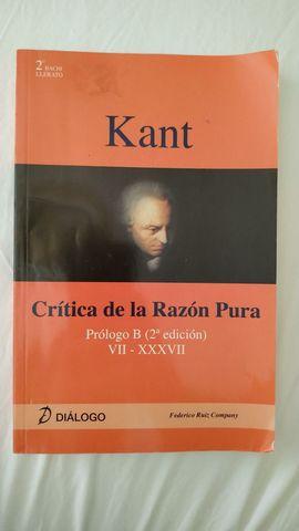 KANT,  CRÍTICA DE LA RAZÓN PURA - foto 1