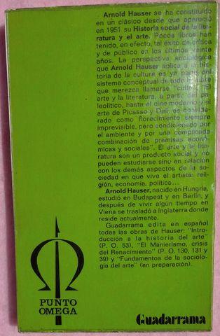 HISTORIA SOCIAL LITERATURA Y ARTE,  3 - foto 2