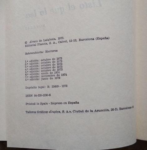 LIBRO LISTO EL QUE LO LEA - foto 2