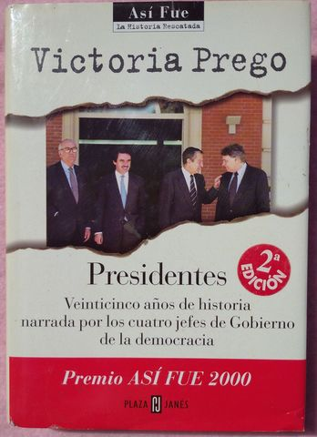 PRESIDENTES – VICTORIA PREGO (2000) - foto 1