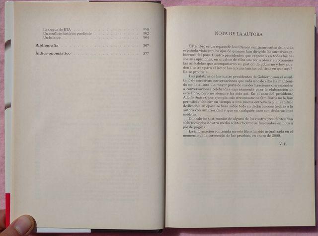 PRESIDENTES – VICTORIA PREGO (2000) - foto 5