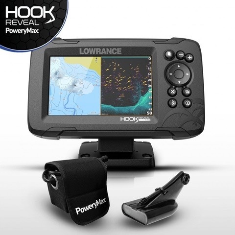 SONDA GPS PLOTTER LOWRANCE HOOK REVEAL 5 - foto 1