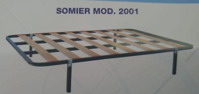 SOMIER NUEVO A ESTRENAR MODELO 2001.  - foto 3