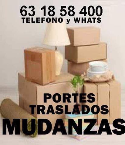 MUDANZAS Y PORTES.  WHATSAP 610823552 - foto 1