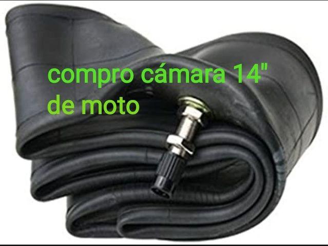 """COMPRO CÁMARA DE 14\"""" DE MOTO - foto 1"""