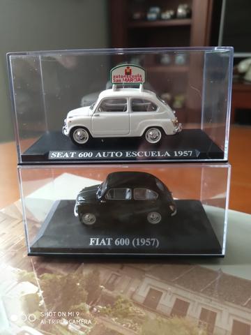 Lote Seat Fiat 600 1:43